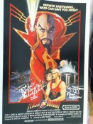 My Flash Gordon poster signed by Sam Jones and Melody Anderson