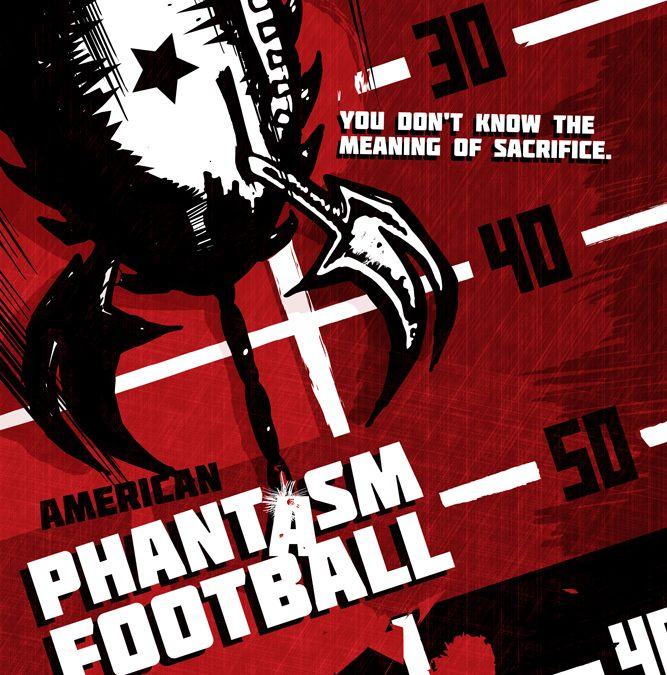 American Phantasm Football poster
