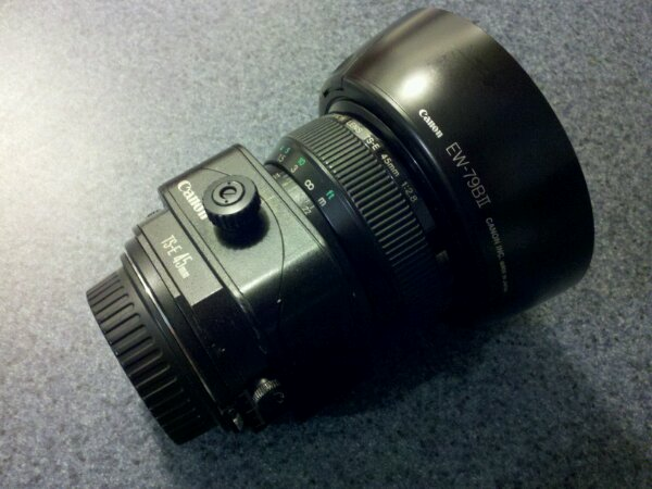 Canon tilt shift lens