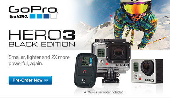 Just Announced: GoPro HD HERO3 Black Edition