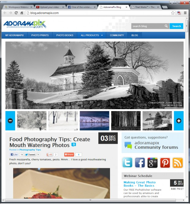 Photo of the Old Dutch Church in Sleepy Hollow, New York featured on the Adorama blog