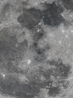 The Wolf Moon Photographed With Televue TV-101 Telescope