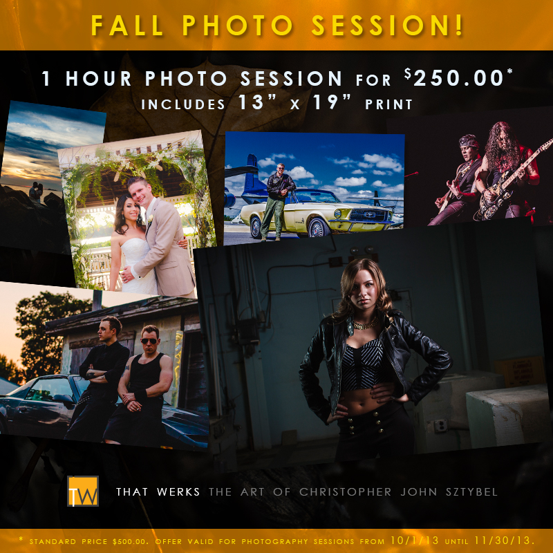 That Werks Fall Photo Sessions for $250.00