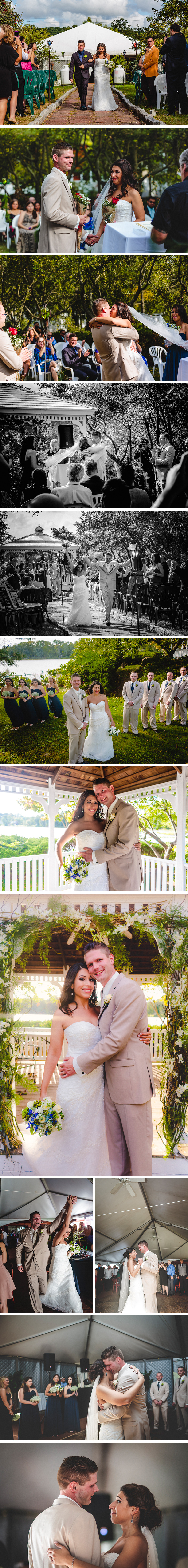 The Wedding of Vanessa Alvarez and Conrad Segelbacher in Congers, New York at La Triestina