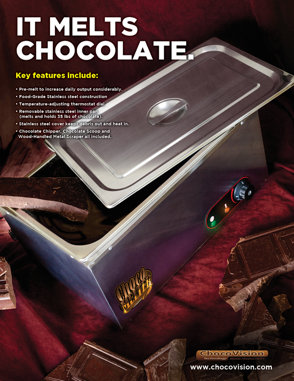 ChocoMelter by ChocoVision print advertisement