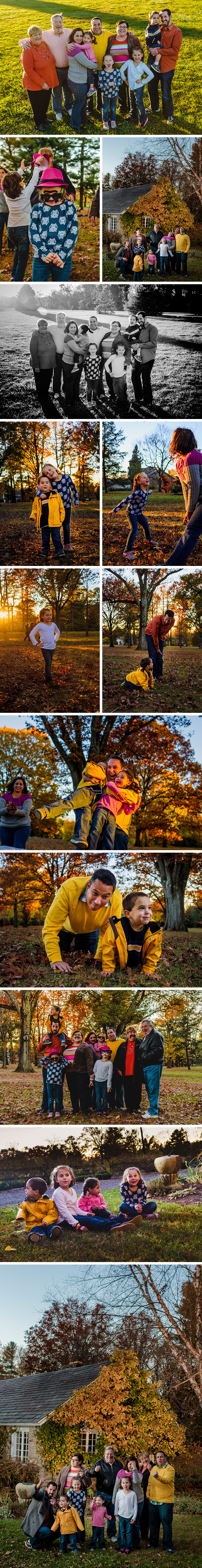 Family Session with the Zipkins in Colonial Park in Franklin Township, New Jersey