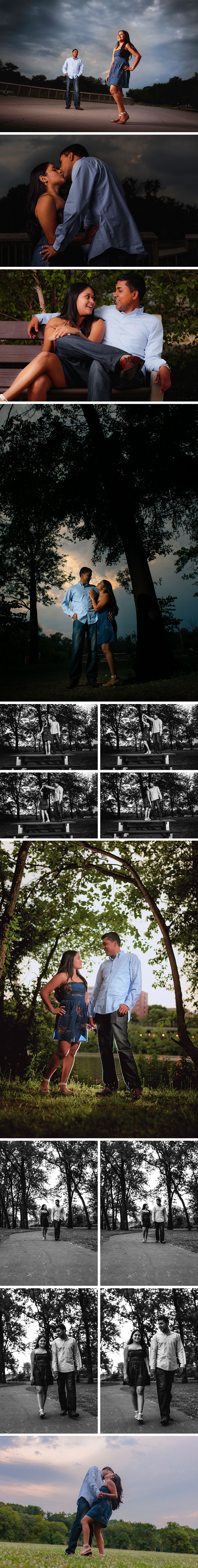 Johnson Park Piscataway, NJ engagement shoot