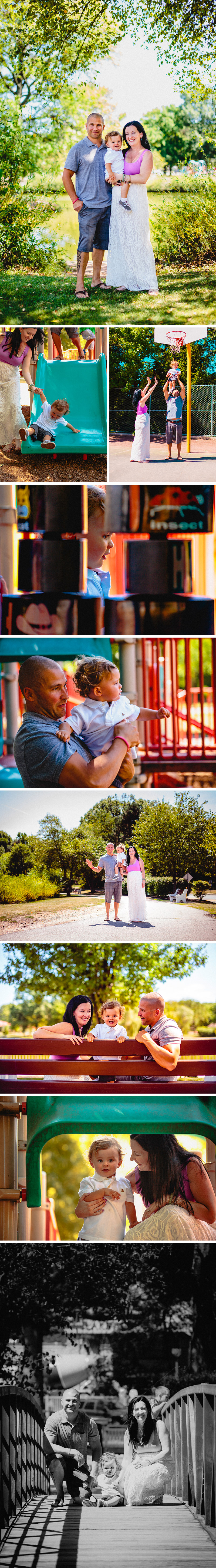 Newman family portraits in Edison, New Jersey