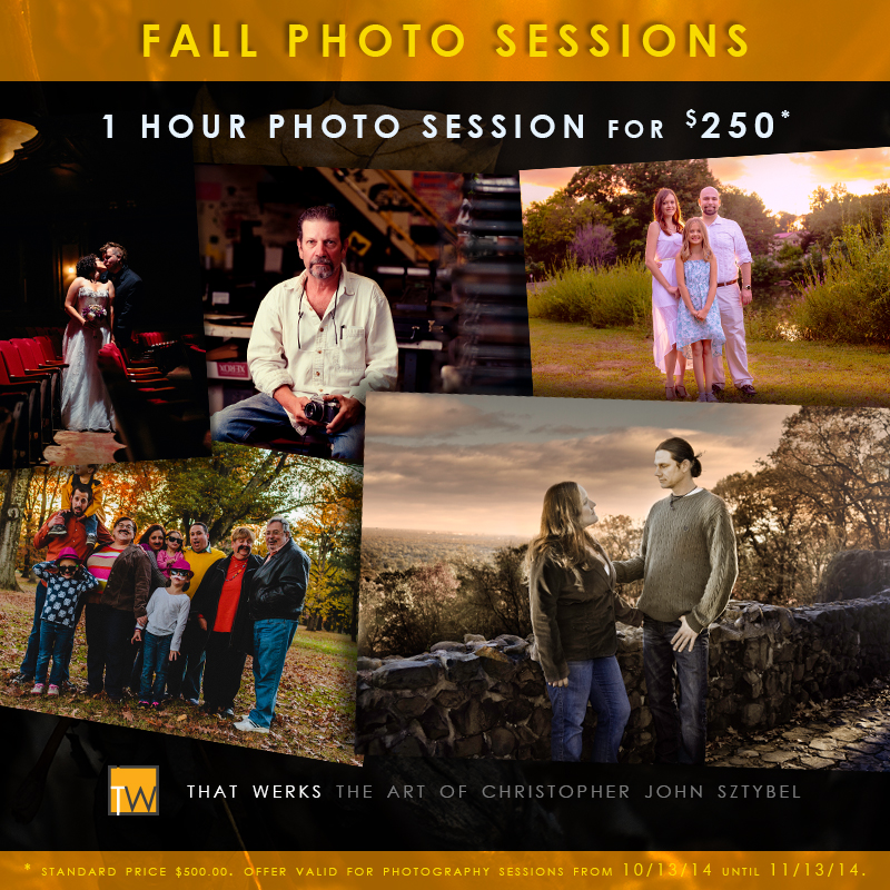 2014 Fall Photo sessions now booking
