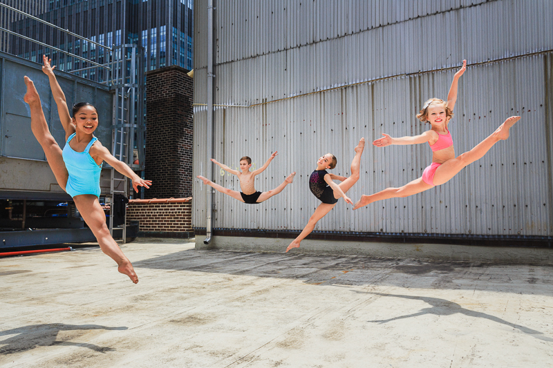 Capezio NYCDA Shoot on Times Square Rooftop