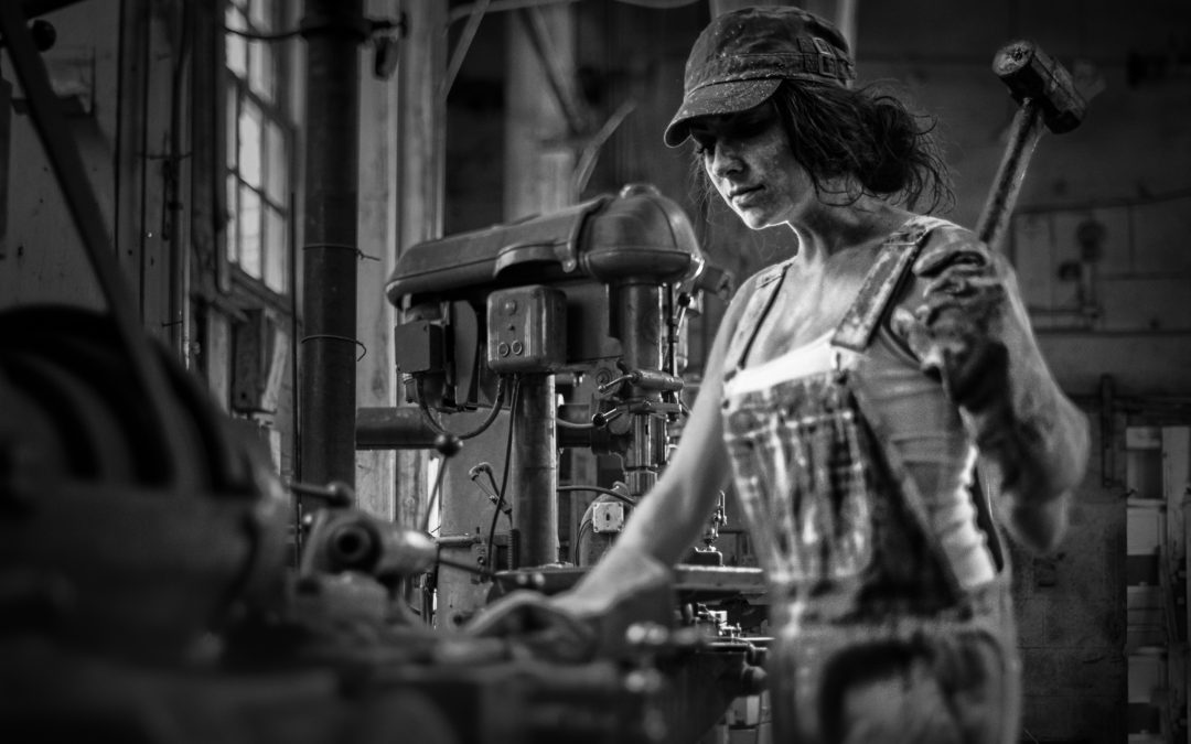 Join The Industrial Revolution with Maria and Her Hammer