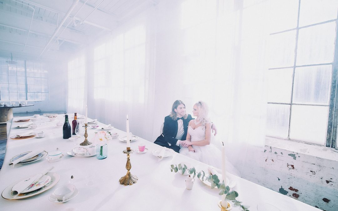Styled Wedding at The Art Factory in Paterson, NJ