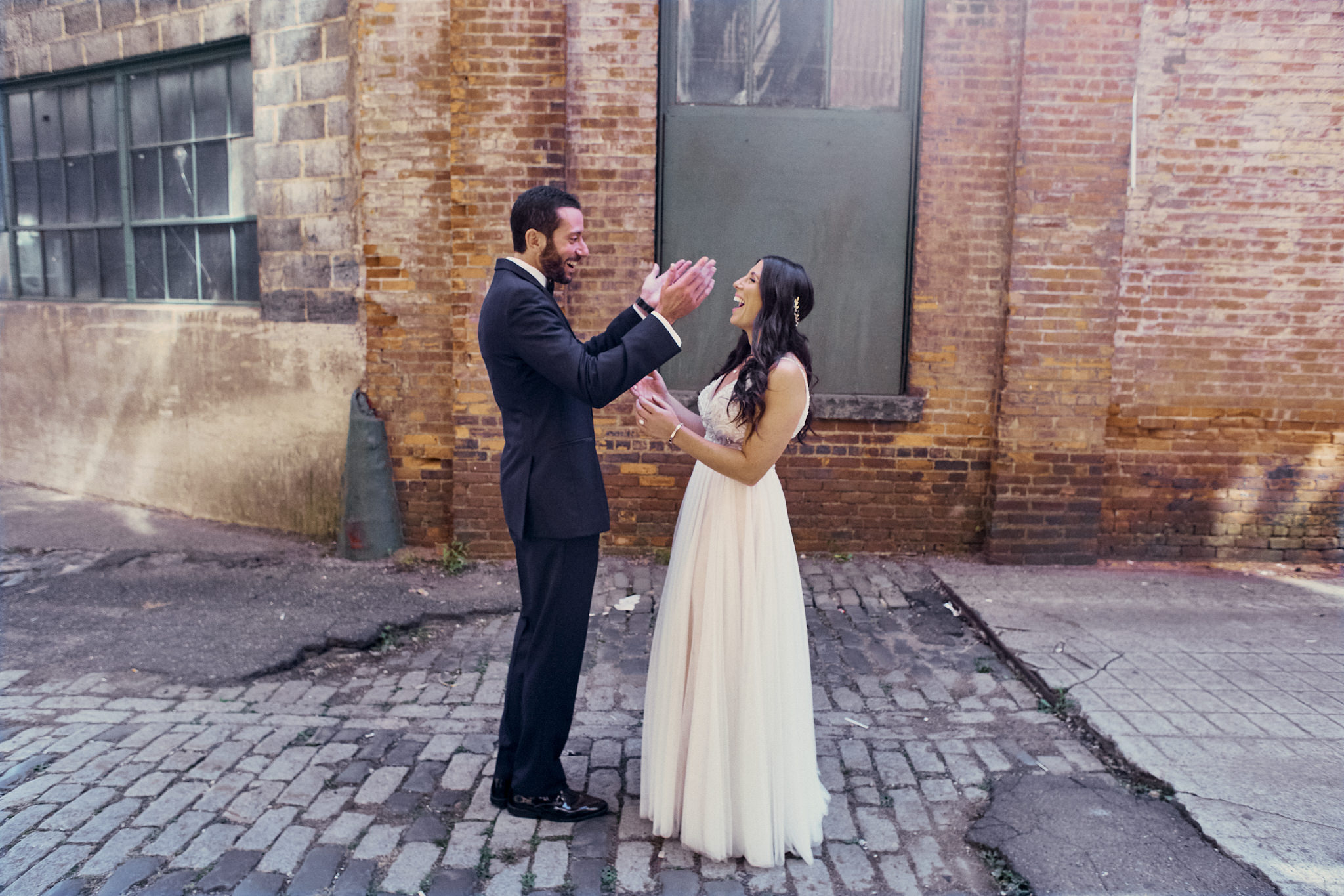 Art Factory Wedding Venue featuring Alyssa and Leo