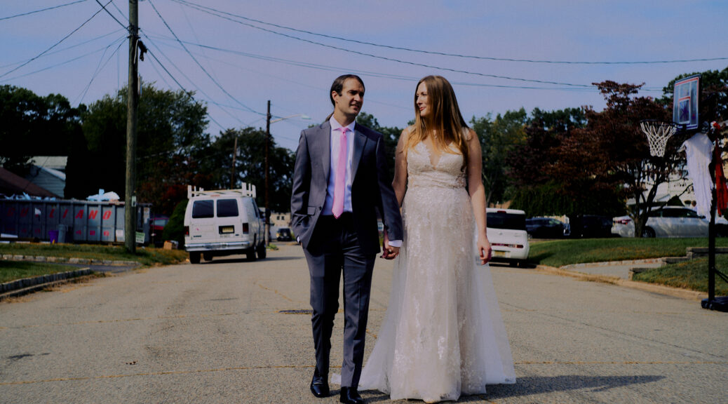 Jess and Mike's post-wedding portrait session in Edison, NJ