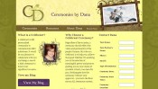 Ceremonies by Dana - Weddings, Civil Unions, Vow Renewals and all of life's milestones