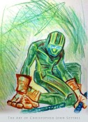 KICK-ASS sketch by Christopher John Sztybel