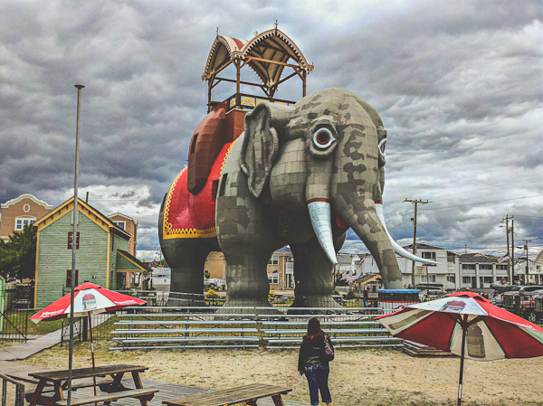 Lucy the Elephant in Margate, New Jersey