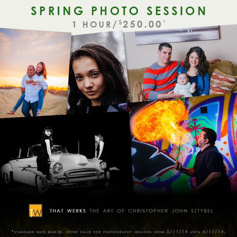 Spring Photo Session for $250