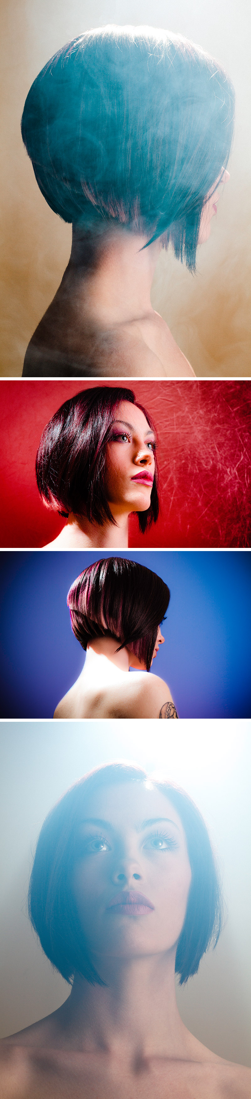 Jessica Cleaver cut and color