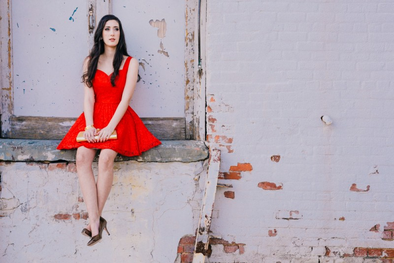 Somerville, New Jersey fashion shoot with hair and makeup by The Beauty Bar