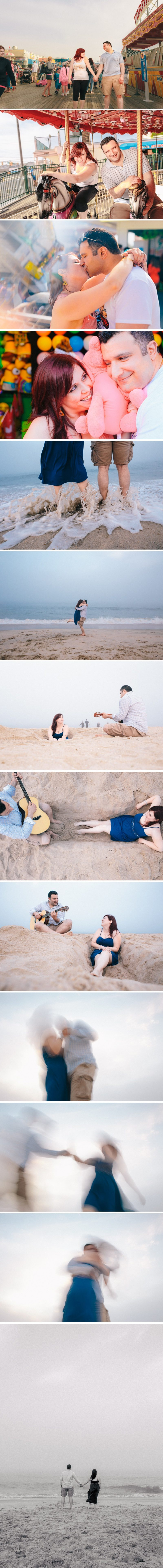 Point Pleasant Beach, NJ engagement session